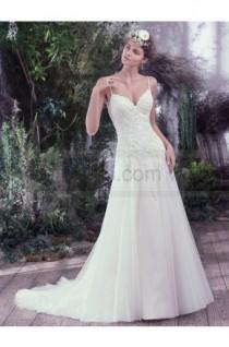 wedding photo - Maggie Sottero Wedding Dresses Beth 6MT757