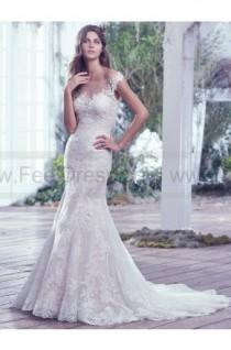 wedding photo - Maggie Sottero Wedding Dresses Carson 6MT819