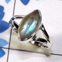 wedding photo - Rainbow Moonstone Ring, Blue Fire Rainbow Ring, Labradorite Ring, 925 Sterling Silver Ring, Solid Silver Ring,Silver Ring, Gemstone Ring