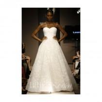 wedding photo - Pronovias - 2014 - Leura Strapless Ball Gown with Sweetheart Neckline - Stunning Cheap Wedding Dresses