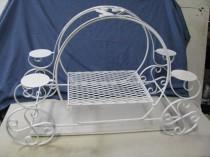 wedding photo - Princess Pumpkin Carriage Wedding Birthday Cake Display Stand