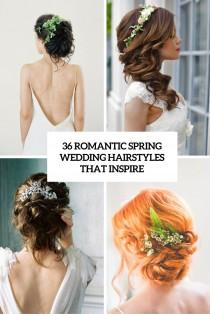 wedding photo - 36 Romantic Spring Wedding Hairstyles That Inspire - Weddingomania