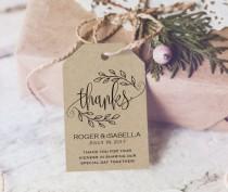 wedding photo -  Thank You Tag - Wedding Printable - Gift Tags - Wedding Thank You Tags - Wedding Favor - Thank You Wedding - Downloadable wedding