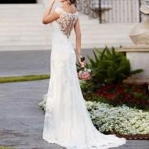 wedding photo - Boho Wedding Dress Bohemian Wedding Dresses
