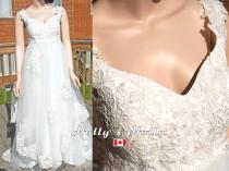 wedding photo - bohemian beho wedding dress unique wedding dress simple wedding dress