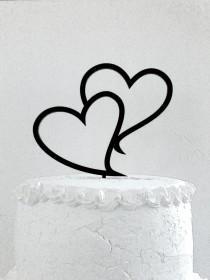 wedding photo - Cake Topper - Custom Wedding Cake Topper, Romantic Wedding Cake Decoration, Love Cake Topper, Traditional Wedding Cake Topper