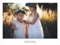 wedding photo - Flower Girl Dress - Lace Flower girl dress - flower girl dresses- baby lace dress - Country Flower Girl dress- Lace Boho flower Girl dress