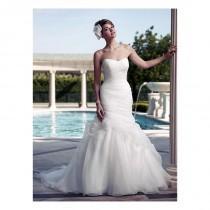 wedding photo - Fabulous Organza Satin Mermaid Sweetheart Neckline Natural Waistline Wedding Dress - overpinks.com