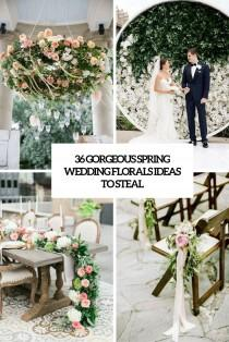 wedding photo - 36 Gorgeous Spring Wedding Florals Ideas To Steal - Weddingomania