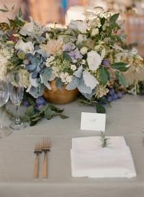 wedding photo - Best Of 2016 :: 15 Of Our Favorite Tablescapes from Real Weddings!