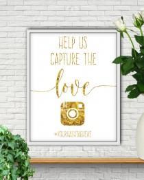 wedding photo - Help Us Capture The Love, Wedding Hashtag Sign, Hashtag Sign, Wedding Hashtag Sign Printable, Hashtag, Hashtag Wedding Sign, Custom Hashtag
