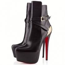 wedding photo - Christian Louboutin Equestria 160mm Ankle Boots Black UK