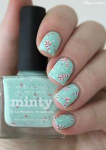 wedding photo - ▲▼▲ Coco's Nails ▲▼▲: Christmas #2 - Candy Canes