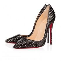 wedding photo - So Kate 120 Brown Leopard Satin - Women Shoes - Christian Louboutin