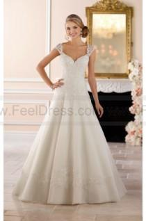 wedding photo - Stella York Keyhole Back Princess Wedding Dress Style 6439