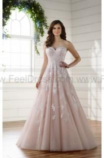 27ec099337d8 Essense of Australia Soft And Romantic Tulle A-line Wedding Dress With Lace  Detail Style D2218