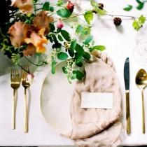 wedding photo - Tablescapes, Centrepieces And Place-Settings