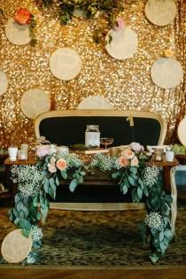 wedding photo - Sweetheart Table