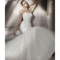 wedding photo - Pronovias Piscis Bridal Gown (2012) (PR10_PiscisBG) - Crazy Sale Formal Dresses