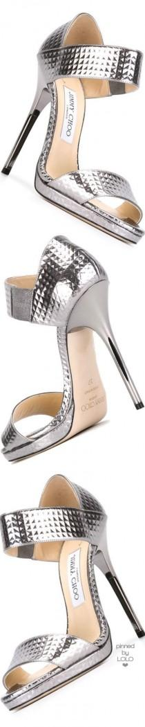 wedding photo - Jimmy Choo 'lee' Sandals - Vinicio - Farfetch.com