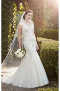 c5f55a795e7 Martina Liana Heavily Beaded Mermaid Wedding Dress Style 852
