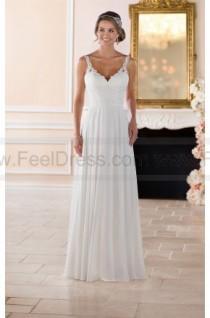 wedding photo - Stella York Flowy Beach Wedding Dress Style 6393