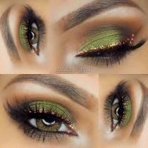 wedding photo - Green Eyeshadow