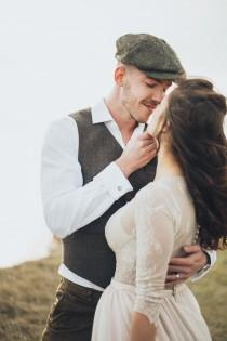 wedding photo - Classic Novel Inspired Autumn Winter Wedding Styled Shoot