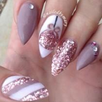 wedding photo - Wedding Bridal Nails
