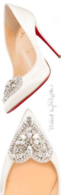 wedding photo - Christian Louboutin High Heels