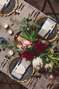 wedding photo - 12 Tablescapes To Inspire Your Next Dinner Party