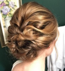 wedding photo - 27 Super Trendy Updo Ideas For Medium Length Hair
