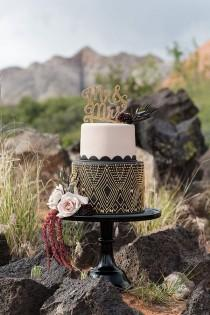 wedding photo - Elegant African-Inspired Mountain Wedding
