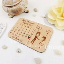 wedding photo - Calendar Save the Date Magnet, Custom Engraved Save the Date, Wood Save the Date, Rustic Save the Date, Wedding Favors, Wedding Invitations