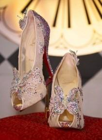 wedding photo - Christian Louboutin Cinderella Heels Are Fit For A Princess (PHOTO)