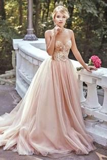 wedding photo - Blush Pink Prom Dress