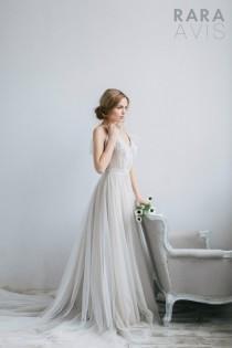 wedding photo - Wedding dress Romi, vintage style wedding dresses, wedding gowns, bride dresses, beach wedding