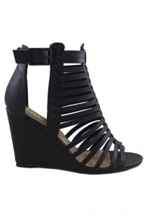 wedding photo - Salem Strappy Wedges