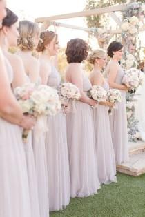 wedding photo - Blush Ranch Wedding With Geometric Details & Succulent Decor