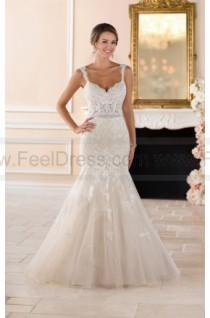 wedding photo - Stella York Sexy Lace Cut Out Wedding Dress Style 6378