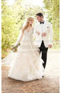 wedding photo - Martina Liana Princess Cut Wedding Dress With Layered Tulle Skirt Style 885