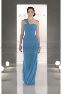 cd3eec09b4fe wedding photo - Sorella Vita Turquoise Bridesmaid Dress Style 8281