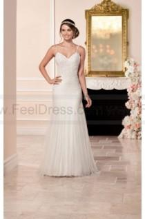 wedding photo - Stella York Sheath Wedding Dress With Low Back Style 6308