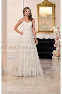 wedding photo - Stella York Tulle Wedding Dress With Sweetheart Neckline Style 6210
