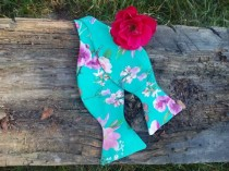 wedding photo - Green floral self tie bow tie Green wedding Bow tie for groom Floral wedding groomsmen bow ties For wedding suits Green fuchsia wedding bvnh
