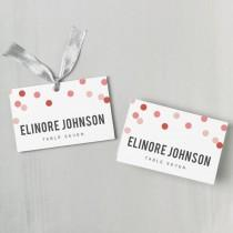 wedding photo - Printable Place Card Template