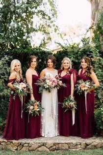wedding photo - A California Garden Wedding With Romantic Florals