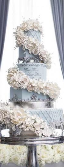 wedding photo - Beautiful Wedding Cake