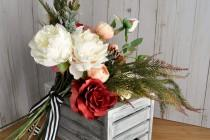 wedding photo - Marsala Wedding Bouquet