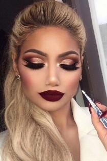 wedding photo - 18 Best Winter Makeup Looks For The Holiday Season